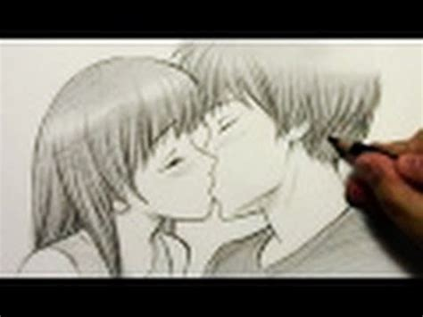 kiss mark tutorial how to draw people kissing htd video 2 youtube