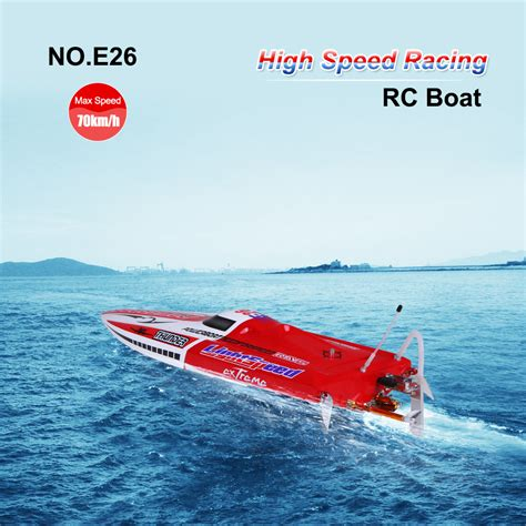 high speed rc racing boat no e26 thunder brushless racing rc boat 70km h high speed