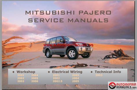 car service manuals pdf 1994 mitsubishi pajero electronic throttle control mitsubishi pajero 2001 2006 service manual auto repair manual forum heavy equipment forums