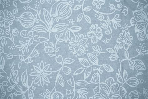 grey pattern material blue gray fabric with floral pattern texture picture