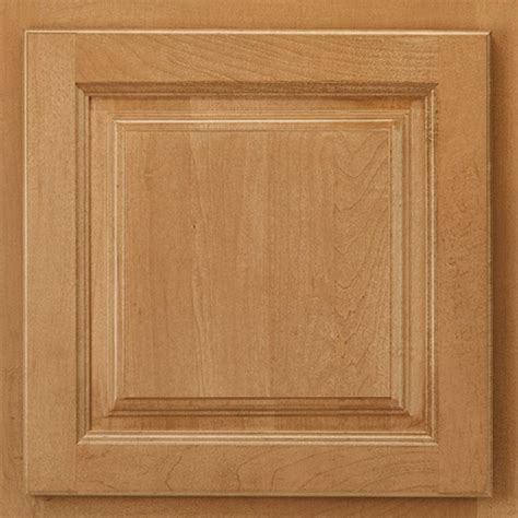 Spice Cabinets With Doors American Woodmark 13x12 7 8 In Cabinet Door Sle In Newport Maple Spice 99886 The Home Depot
