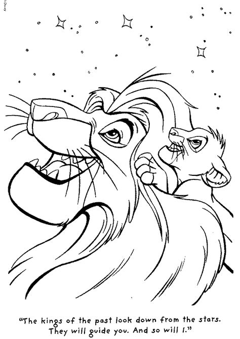 lion king mufasa coloring pages mufasa coloring pages coloring home