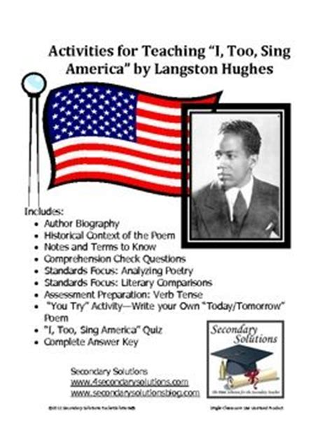 langston hughes biography quiz 105 best images about langston hughs on pinterest
