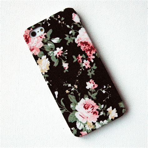 Hardcase Pc Vintage Iring Floral Cover Casing Iphone 6 Plus iphone pink floral pattern on black fabric iphone 5 on luulla