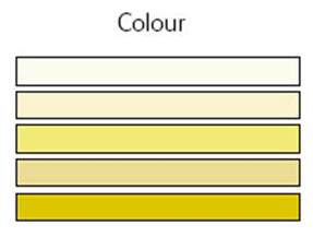 color of mucus sputum colour chart