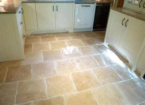 Travertine Colors Kitchen Floors by The Color Of Tile Wavy Edge Travertine Kitchen Floor Tiles