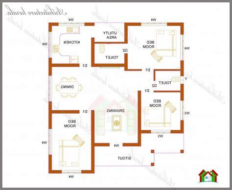 kerala house plans 1000 square feet
