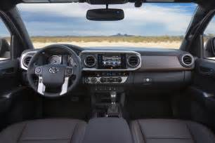 Toyota Tacoma Interior 2016 Toyota Tacoma Is It All New W Everything