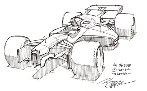 Formula 1 Sketches by 301 Moved Permanently