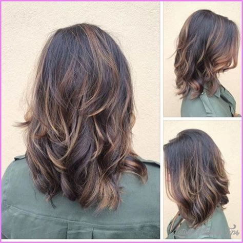 Length Layered Hairstyles by Same Layered Shoulder Length Haircut Different Hairstyles