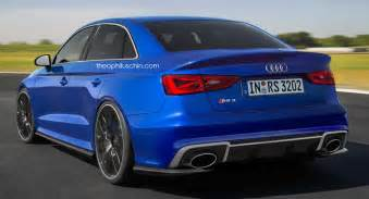 Audi S3 Rs Carscoops Audi Rs3 Posts