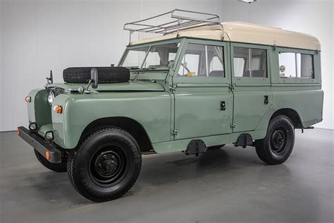 1966 land rover 109 series iia dormobile uncrate