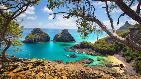 fernando de noronha archipelago  brazil sand beaches sea