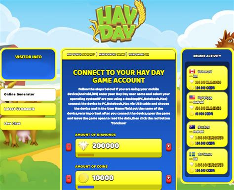 hack hay day android apk hay day hack generator diamonds and coins