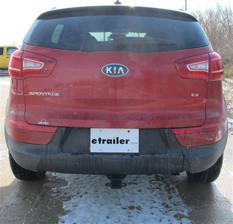 Kia Sportage Towing Reviews Trailer Hitch For 2012 Kia Sportage Curt C12030