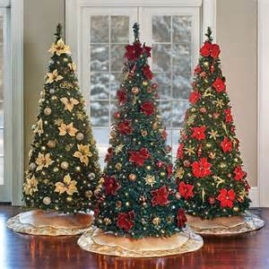 burgundy pull up christmas tree 6 1 2 improvements catalog