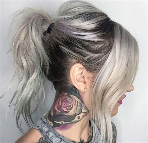 dyeing gray hair blonde 85 silver hair color ideas and tips for dyeing