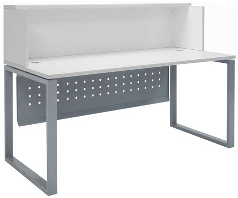 White Reception Desk Trendspaces White Reception Desk 66 Quot Wide