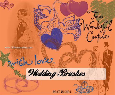 Wedding Wishes Photoshop wedding wishes cs4 brush 123freebrushes