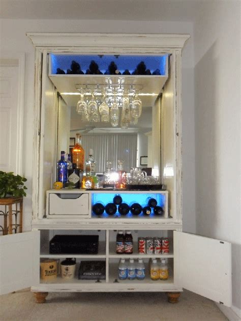 Armoire Bar Cabinet by Best 25 Armoire Bar Ideas On Bar Cabinet