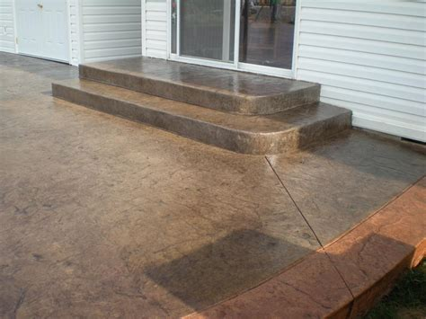 concrete patio steps pictures for s curb and concrete in grandview wa 98930