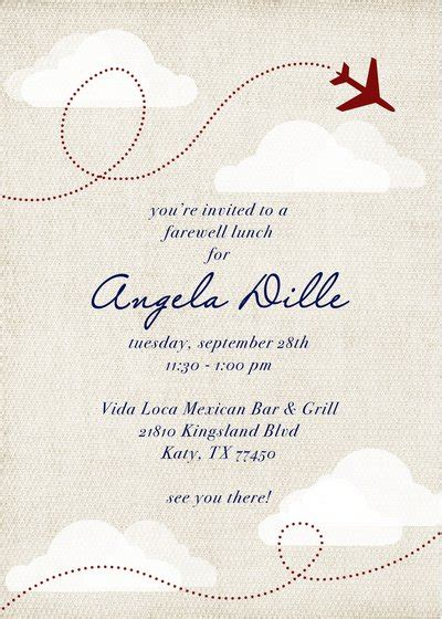Farewell Flyer Template Free