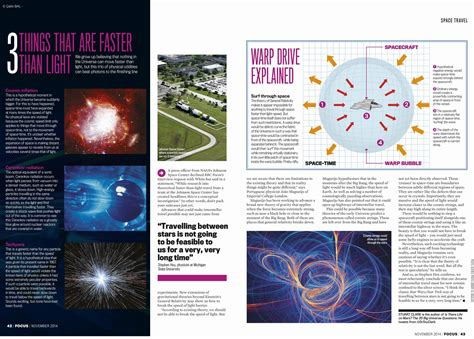 How To Travel Faster Than Light by How To Travel Faster Than Light Focus Magazine