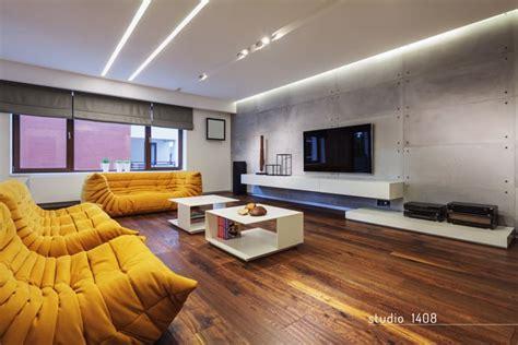 contemporary apartment design by studio 1408 bucharest
