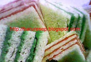 cara membuat roti tawar warna warni kreasi roti tawar lapis warna warni