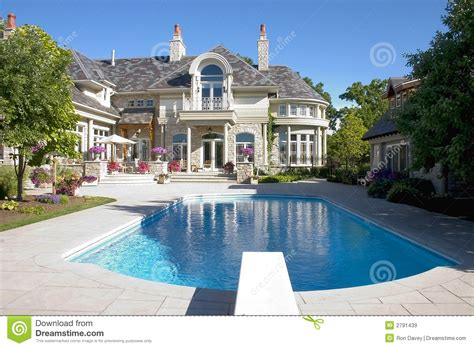 Tri Level Home Plans Designs luxury home pool shot stock image image of luxury