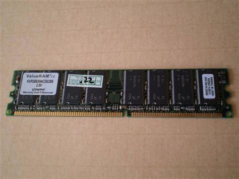 Ram Komputer 256 Mb memoria ram ddr 256mb valueram kvr266x64c25 256 2 5v 150 00 en mercado libre