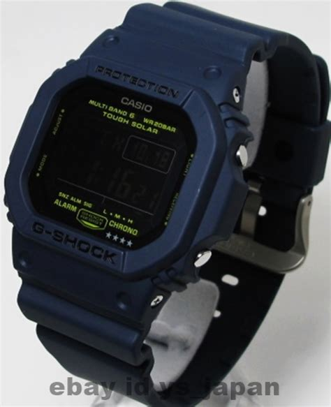 Casio G Shock Premium Quality Japan 2 casio g shock gw m5610nv 2jf tough solar radio multiband 6 japan gw m5610nv 2 ebay