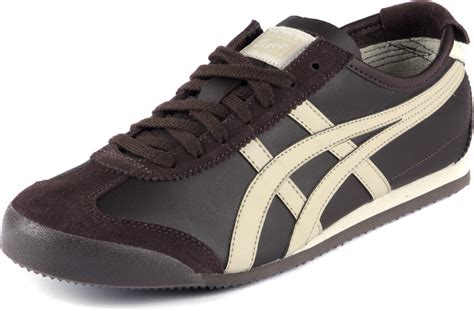 Sepatu Mexico66 Brown onitsuka tiger mexico 66 shoes brown beige