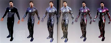 avengers infinity war concept art spotlights alternate
