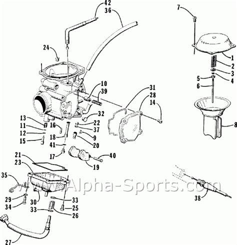 arctic cat parts alpha sports arctic cat atv parts diagram automotive parts diagram images