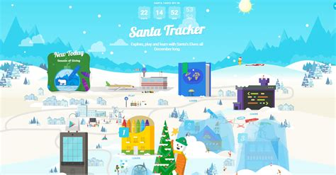 santa tracker reboots the santa tracker for 2015 with