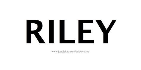 riley tattoo design design name 20 26 png