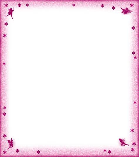 printable pink fairies flowers notepaper note paper