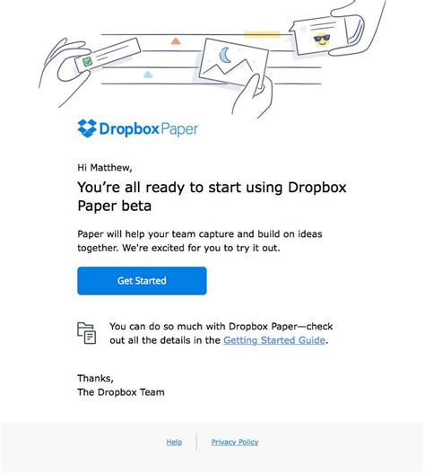 themes line dropbox dropbox sent this email with the subject line welcome to