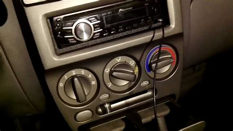led lighting heating a panel 2000 2005 hyundai accent