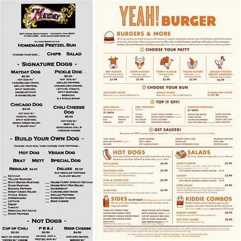 design menu burger 17 best ideas about burger menu on pinterest menu design