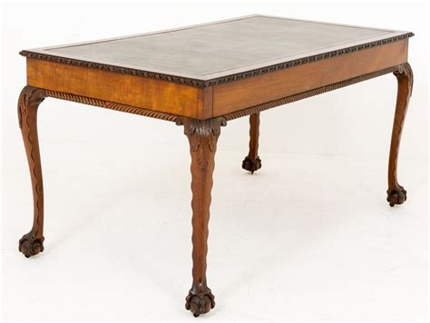 Chippendale Writing Desk by Mahogany Chippendale Writing Table Desk And Claw
