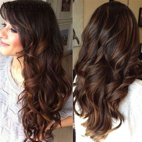 balayage ombre highlights on dark hair balayage highlights and balayage ombre for spring 2014