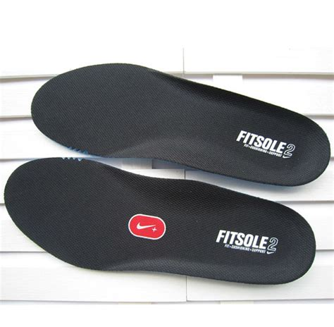 nike fitsole 2 ortholite black insole thick breathable insole