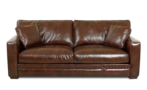 genuine leather sleeper queen leather sleeper sofa home decor here review