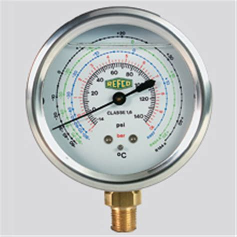 Pressure Refco gauges