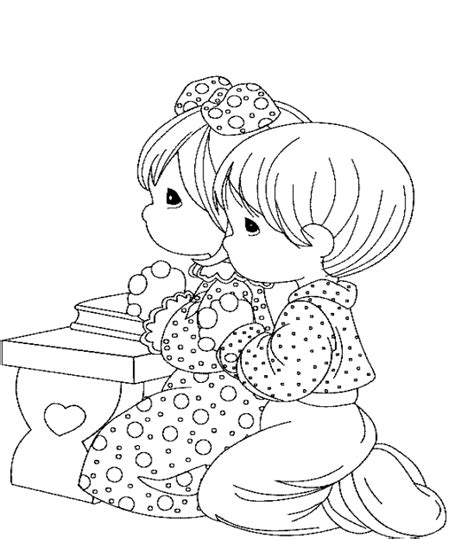 coloring pages for toddlers on prayer children praying coloring page coloring home