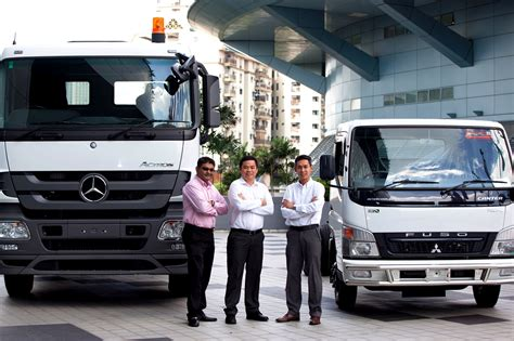 Mercedes Commercial Trucks by Mercedes Malaysia Commercial Vehicles Sales Up 5 5
