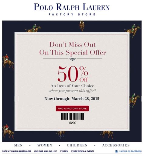 printable coupons polo outlet ralph lauren outlet coupons printable 2018 staples