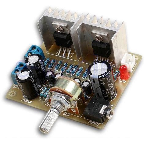 Kit Power Lifier Lapangan Diy Kit 2 0 Dual Channel Tda2030a Power Lifier Module Tw Ebay